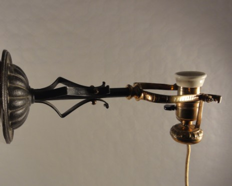 early combination lamp original 1890
