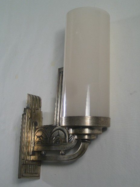 geometric floral  art déco walllamp sconce thirties