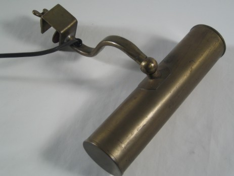 small piano lamp reading lamp 1920 original