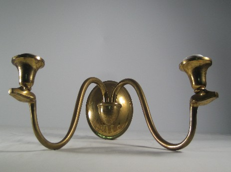 old brass applique snake heads 1925