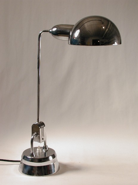 charlotte perriand simon paris chrome lamp 1930 1960