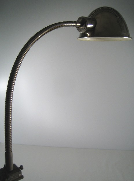 working light nickel plated 1930 original