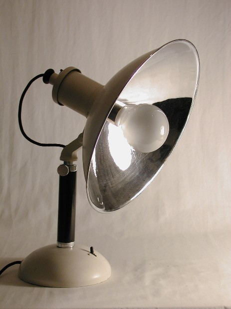 big and articulated foto lamp modernism 30's functionalism