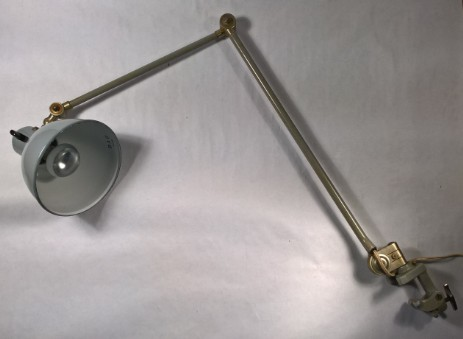 BAG Turgi original swiss working lamp prewar design 1930 1950