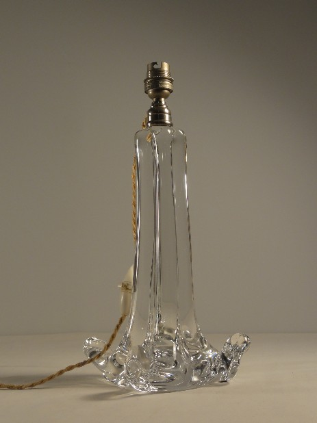 baccarat cristal lamp stand fifties