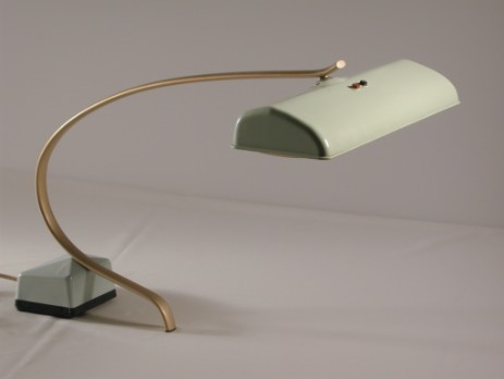 cool fifties working lamp neon mint1955