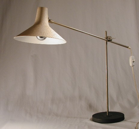 big and very nicely shaped cone lamp 50's original