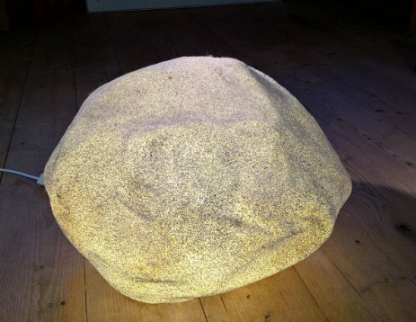 andre cazenave pebble lamp rock lamp singleton big