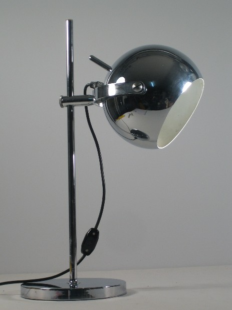 massive chrome spot lamp sixtes