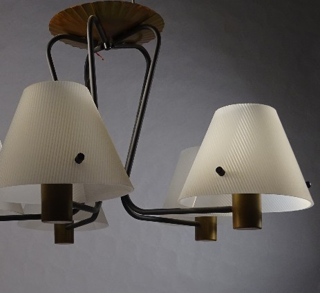 fifties design ceiling lamp probably matthieu mategot